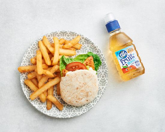 Calories in Nandos Peri-Peri Chicken Mini Pita Meal