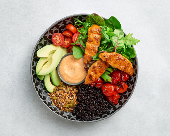 Calories in Nandos Power Up Bowl With Chicken