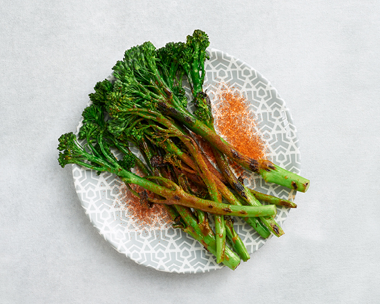 Calories in Nandos Peri-Peri Grilled Broccolini (Large)