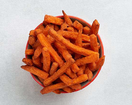 Calories in Nandos Peri-Peri Sweet Potato Chips (Regular)